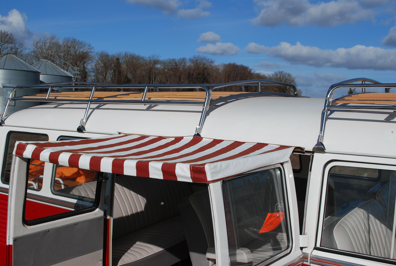 C&ing»Sun canopy»T2 Splits Screen Sun Canopy for Cargo Doors in Red & T2 Splits Screen Sun Canopy for Cargo Doors in Red - NLA VW Parts Pezcame.Com