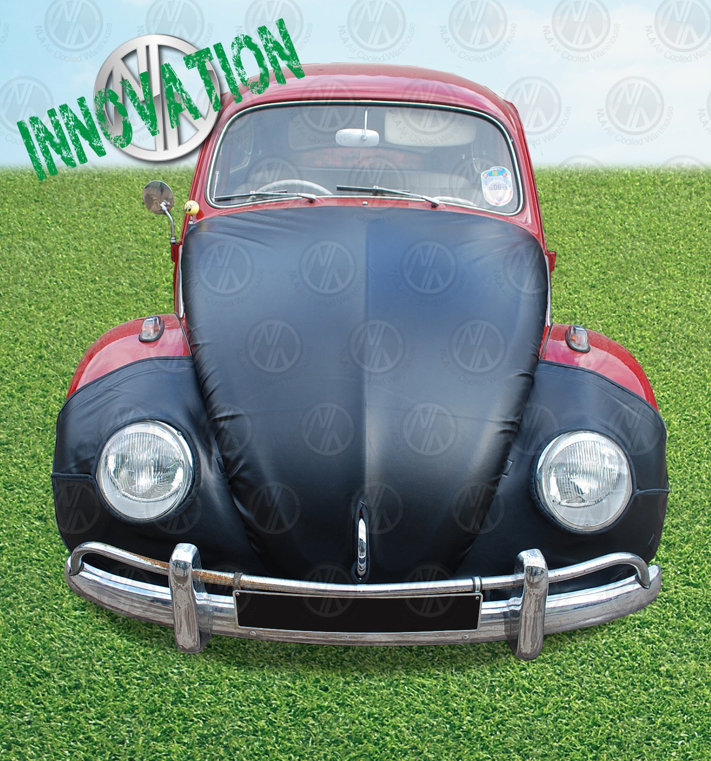 full bonnet bra set  pre  beetle nla vw parts