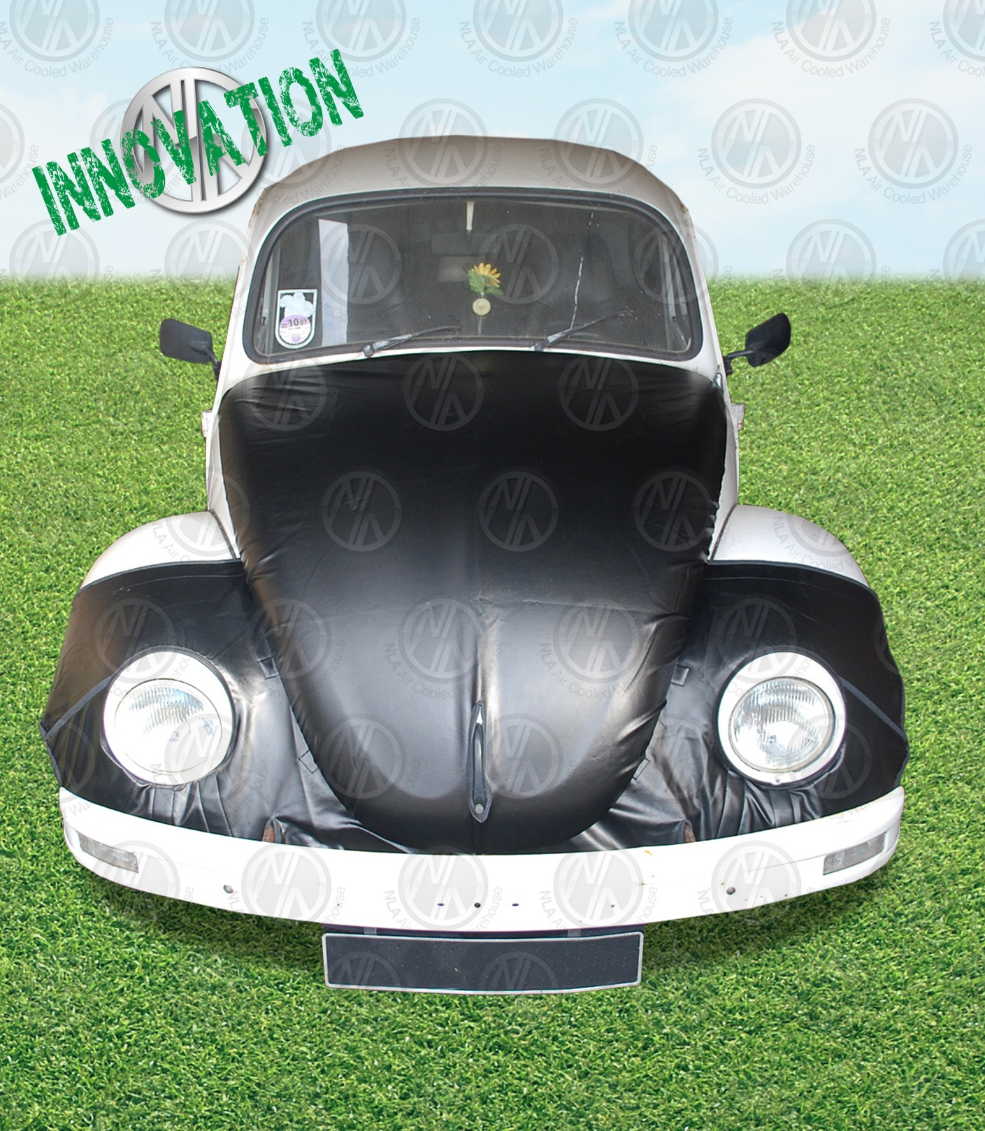 Full Bonnet Bra Set For Post 67 Beetle Nla Vw Parts