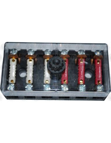 6 way auxiliary fuse box fuses nla vw parts 6 way auxiliary fuse box fuses
