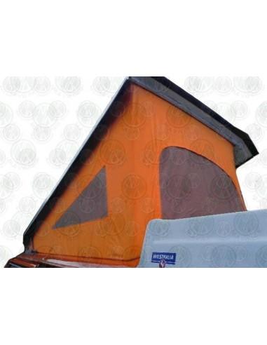 VW T2 Late Bay Roof Canvas, 3 Windows, Orange