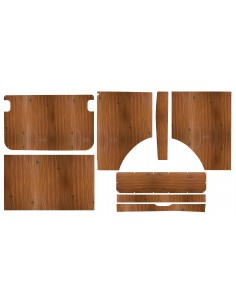 Westfalia interior panels for 75-79 Late Bay Helsinki 8 piece set
