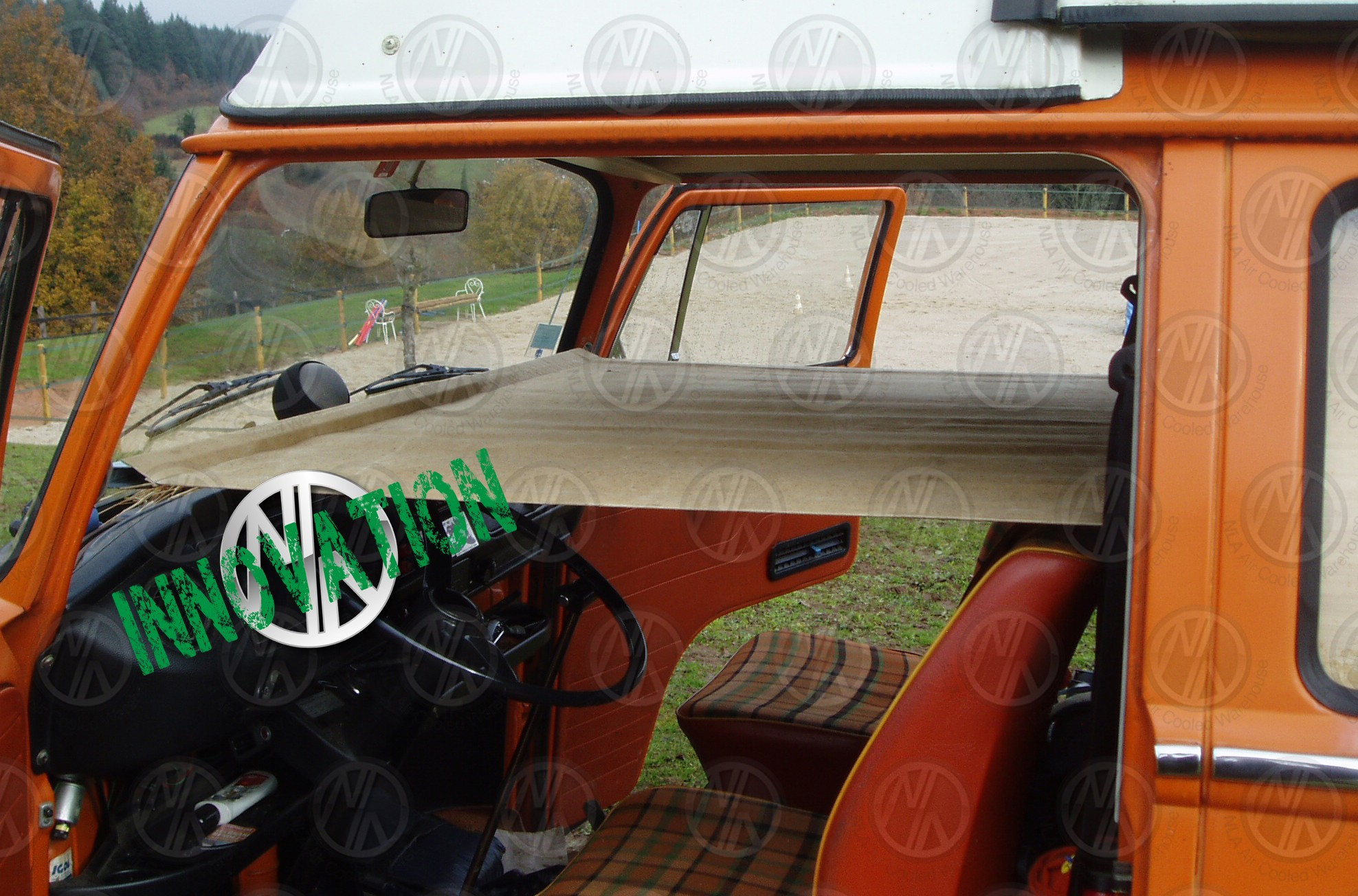 Adjustable Child Cab Bunk For Vw T2 Bay Window Nla Vw Parts