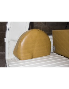Westfalia Mustard vinyl spare wheel cover for early bay 1968-1974 same as original