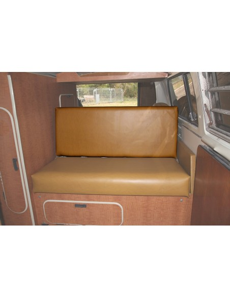 Westfalia Mustard vinyl rock and roll seat backrest cover for early bay 1968-1974 same as original