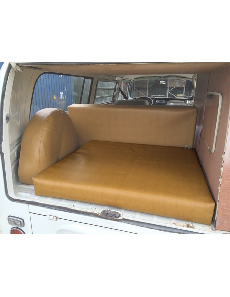 Westfalia Mustard vinyl foam cover over engine bay for early bay 1968-1974 same as original