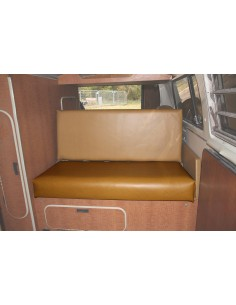 Westfalia Mustard vinyl rock and roll seat bottom cover for early bay 1968-1974 same as original