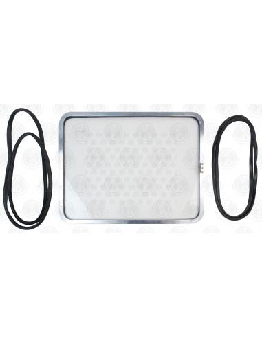 Pop Out Side Window Kit (Polished Aluminium)