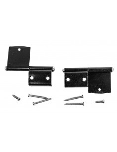 Westfalia Cupboard Door Hinges (pair) in Black