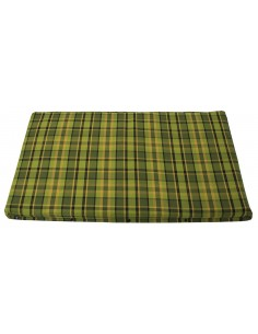 Westfalia Green Plaid Upper Bed Foam Cover Small 1974-1979