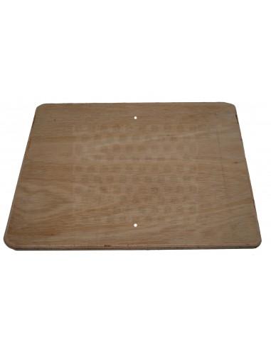 Wood board for Westfalia T2 late bay buddy seat same as original