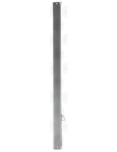 LHS Upright Bar for VW T2 Bay Side Window Opening Quarter Light Window in Silver