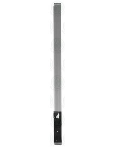 RHS Upright Bar for Side Quarter Light Window in Silver