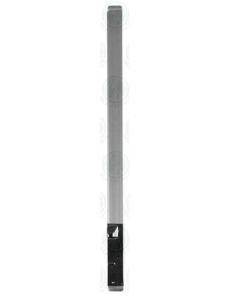 RHS Upright Bar for VW T2 Bay Side Window Opening Quarter Light Window in Silver