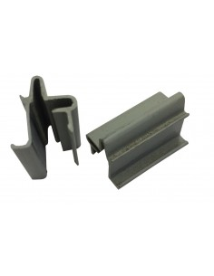 Pair of Westfalia Louvre Window Mosquitto Net Plastic Clips