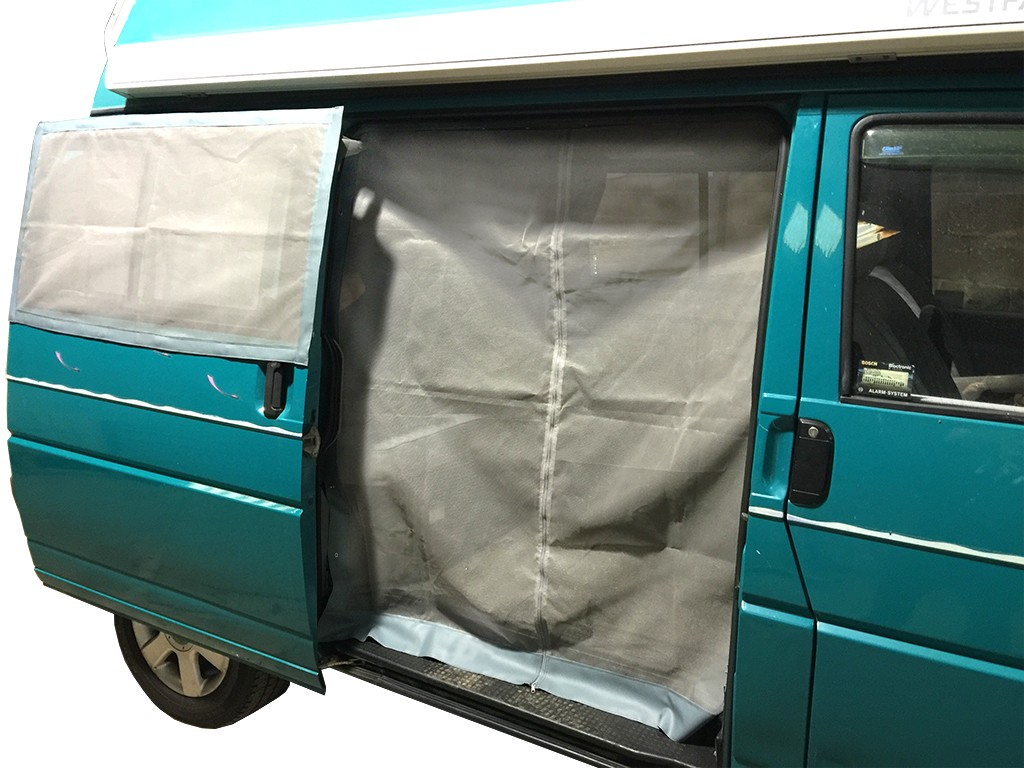 Sliding Door Mosquito Net For Vw T4 Right Hand Side Nla Vw Parts