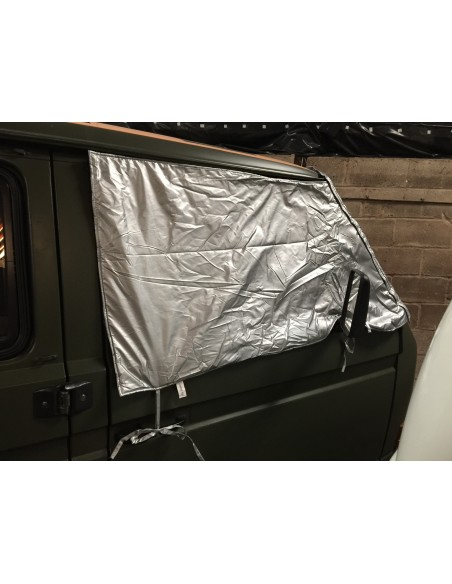 Deluxe External Thermo Windscreen and cab window mat