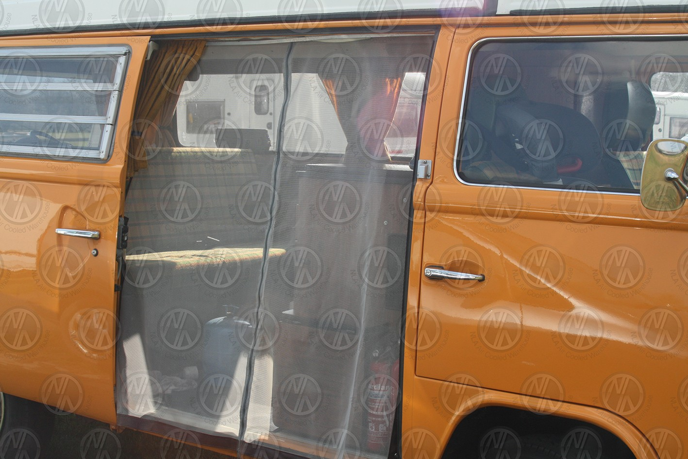 Sliding Door Nets For Vw T2 Bay Nla Vw Parts