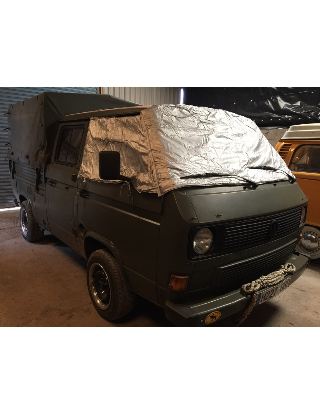 Deluxe External Thermo Windscreen and cab window mat for T25 - NLA