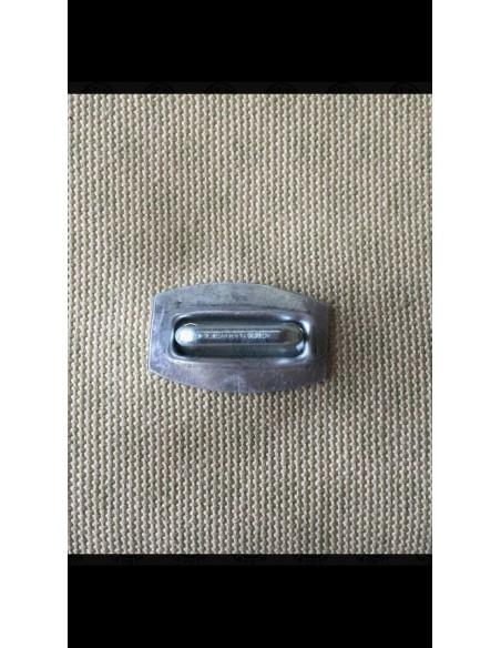 Aluminium rectangular eyelet set for VW T2 pick up canvas
