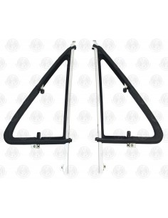 Opening Quarter Light Bar Frame, includes rubber and glass for T25 Pair