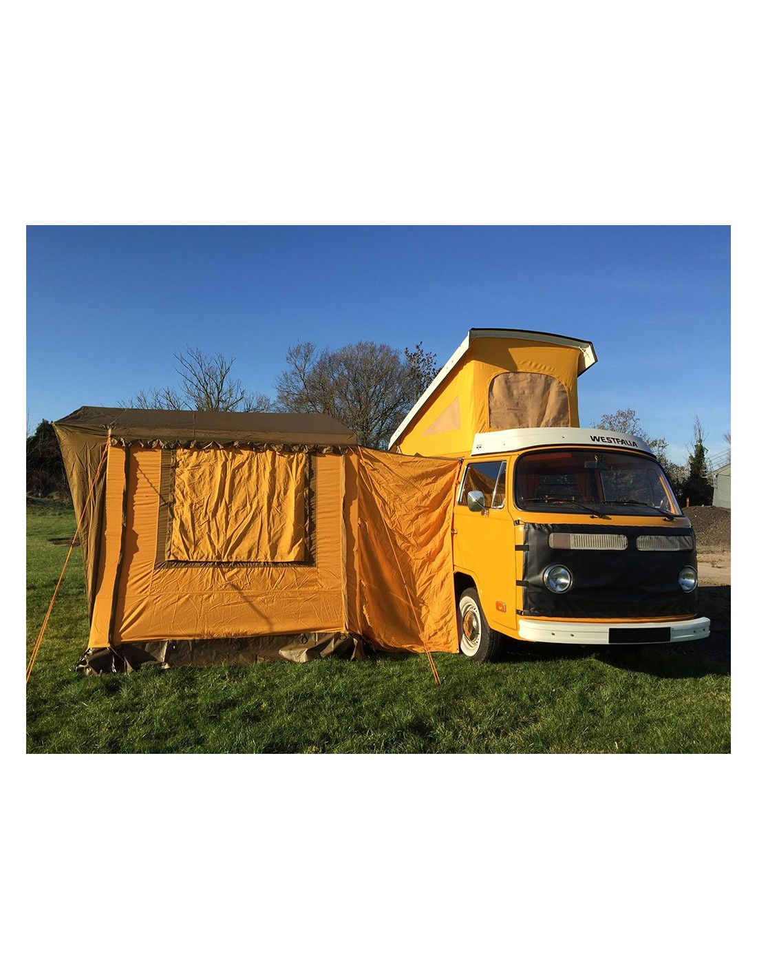 Nla Vintage Yellow Driveaway Awning Nla Vw Parts