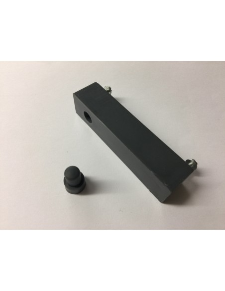 Westfalia SO42 Cabinet Handle for left hand grab Dark Grey
