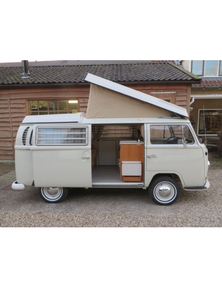 German Quality Early Bay Roof Canvas 1 Window in Tan 1968-1974