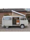 VW T2 Early Bay Roof Canvas, 3 Windows in Tan
