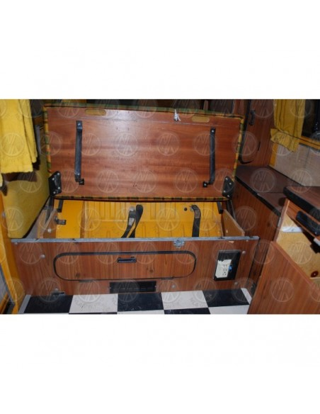 Westfalia 3/4 Width Rock and Roll Bed Complete Kit Orange Colour
