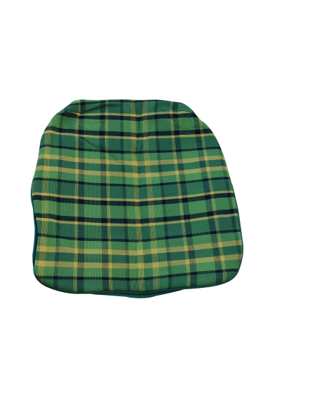 Early Bay Front Seat Base Cover in Green Plaid