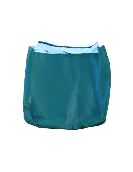 Early Bay Front Seat Full Back Cover in Blue. The Horse Hair padding is not included