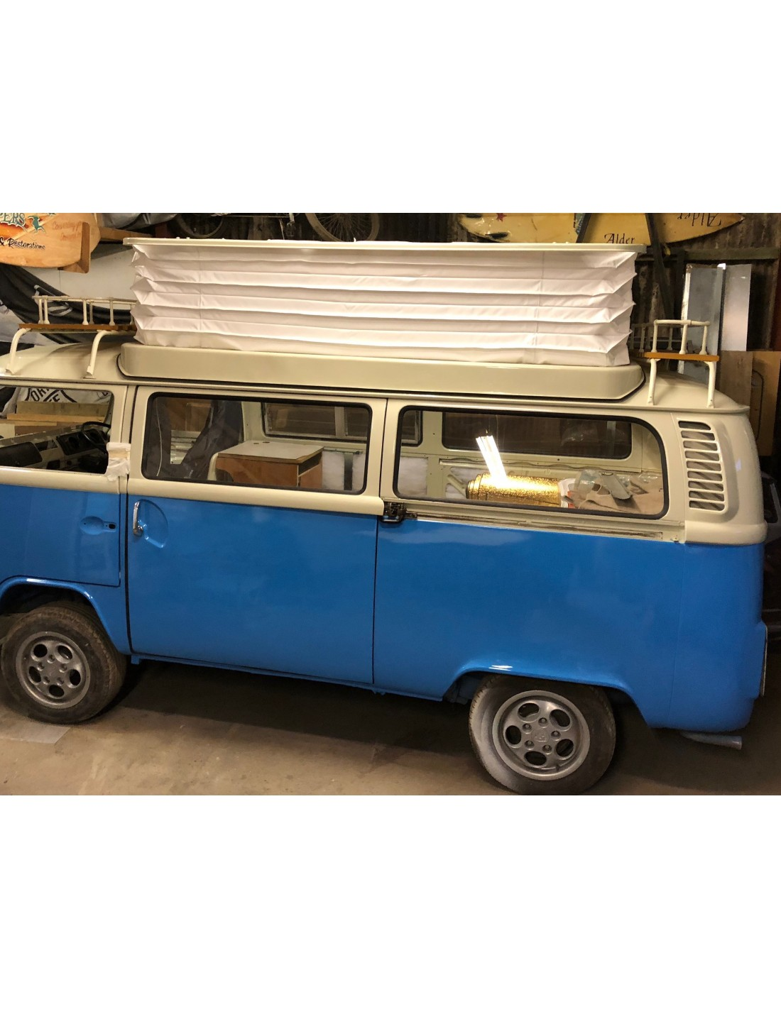 VW T2 Bay window PAIR Stainless Steel side bars top quality easy fit