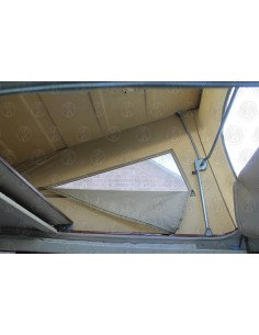 Late VW T25 Westfalia Roof Canvas Tan 3 Window