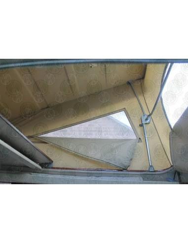 Late VW T25 Westfalia Roof Canvas Tan 3 Window