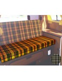 Westfalia 3/4 Rock and Roll Bed Seat Cover in Green