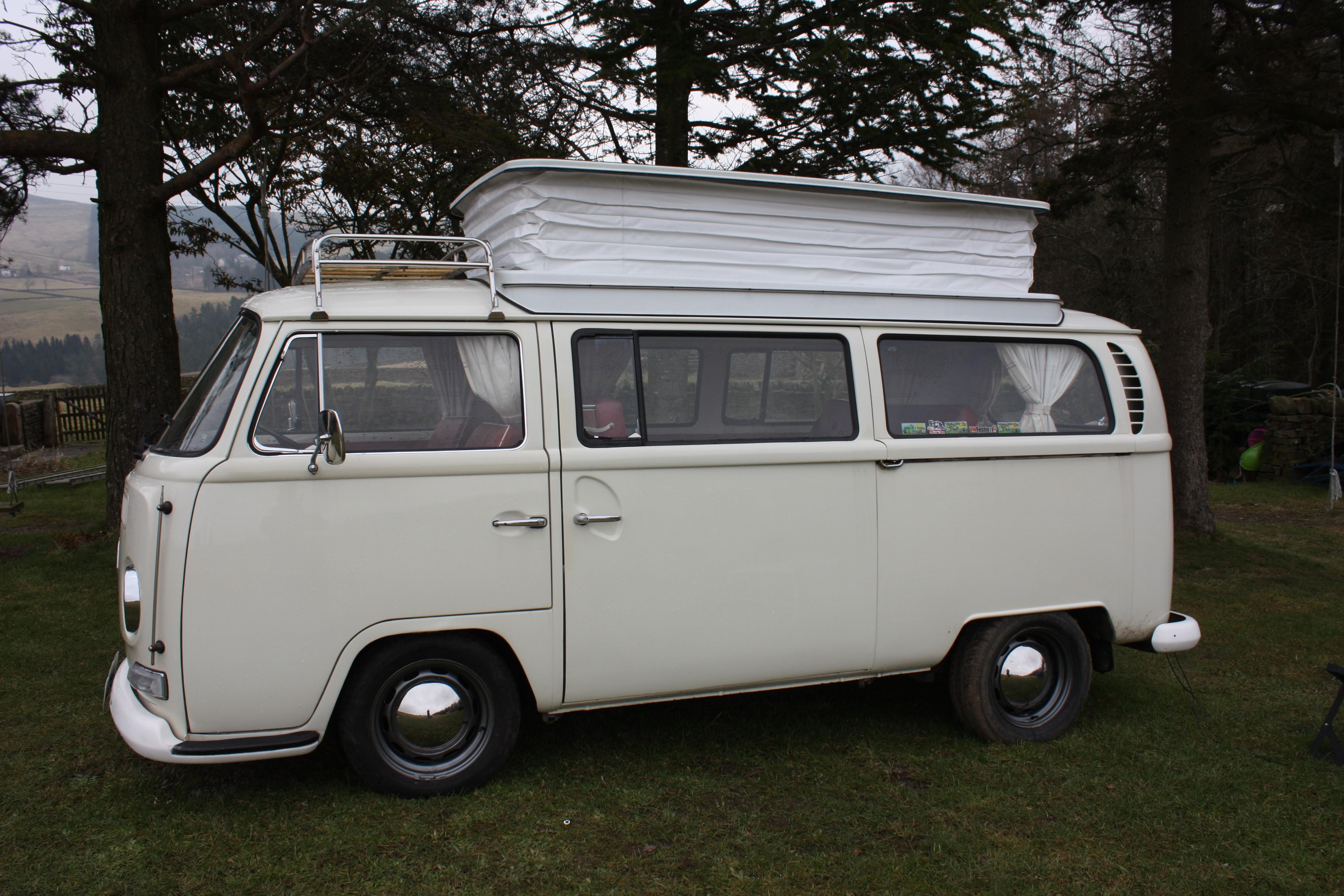 "Striped Vinyl Flooring /""Cotton/"" VW T4 T5 T6 Camper Van LWB 3 x 2 Metres"