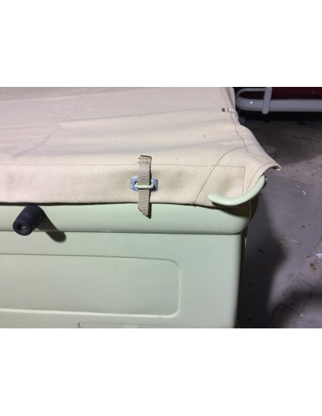 Tonneau Cover Canvas for Bay Window Crew/double  Cab Pick Up.