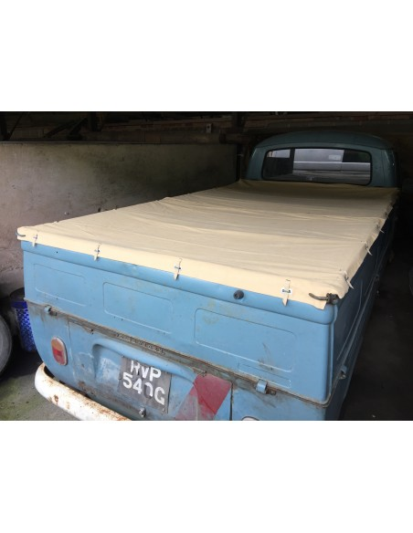 Tonneau Cover Canvas for Bay Window Single Cab Pick Up.