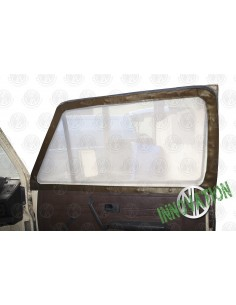 Pair of Cab Window Nets for VW T25 in Brown