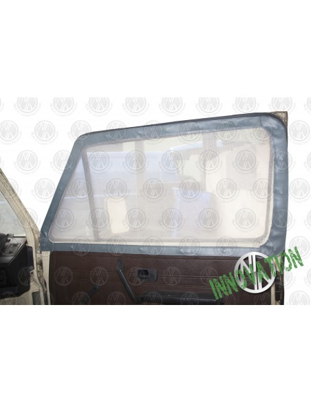 Pair of Cab Window Nets for VW T25 in Grey
