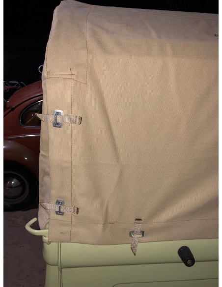 Pick Up Canvas Flush to Cabin Height for Double Cab Bay