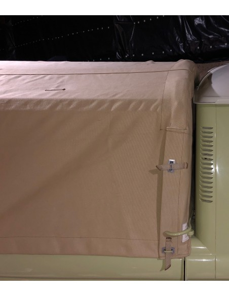 Pick Up Canvas fitting Flush to Cabin Height for Bay Window Single Cab Pick Up