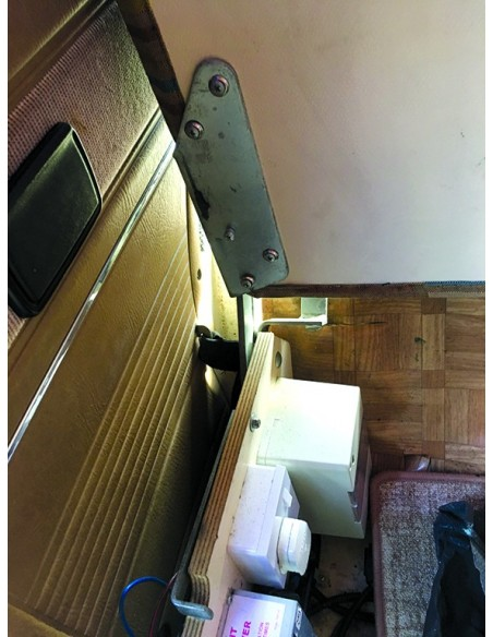 T25 Westfalia Rock and Roll Bed Hinges