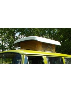 Westfalia turret top pop up roof Canvas in yellow for VW T2 Bay Window 1968- 1979