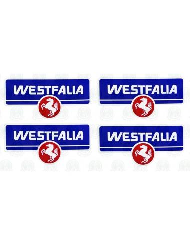 Westfalia Stickers with original horse Logo