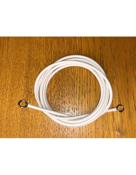 Curtain retention cord for T2 split for 3 side window curtains