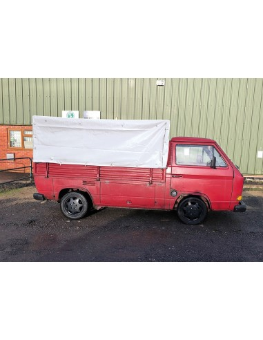 T25 Single Cab PVC Cover Full Height
