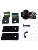 A Pair of Gripper Clamps/Awning Rail Clamps & Rubber Mat