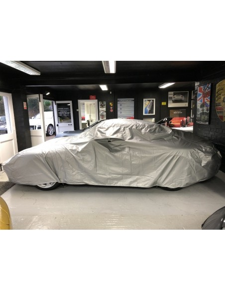 Deluxe Classic Porsche Cover In/Outdoor waterproof Silver cotton lining with air-vents